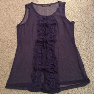 The Limited sheer tank top - size med